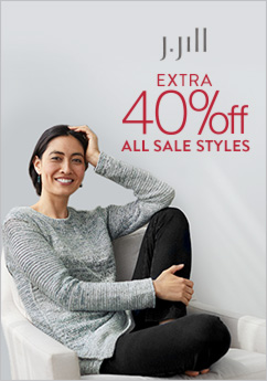 J.Jill – Extra 40% off* All Sale Styles