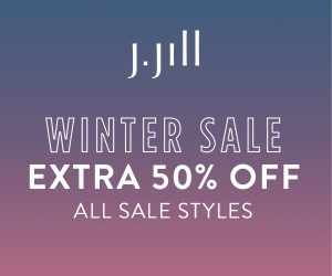 J. Jill – Winter Sale – Extra 50% OFF Sale Styles* – Ends Wednesday 1/22/20!