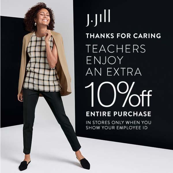 Teachers Appreciation event at J Jill