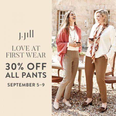 30% off All Pants! at J. Jill