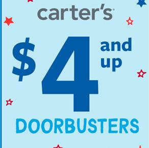 Carter's – $4 and Up Doorbusters*