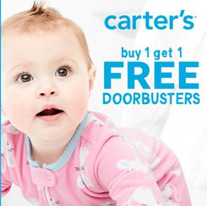 Carter's – Buy One Get  One Free* Doorbusters