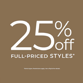 Chico's – 25% off Full-Priced Styles*