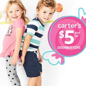 Carter's – $5 and Up Doorbusters*