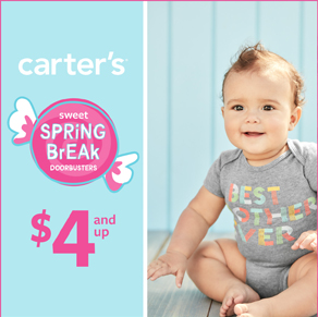 Carter's – Entire Store 50-60% Off*