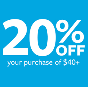 Carter's – Save 20% Off Your In-Store Purchase of $40+