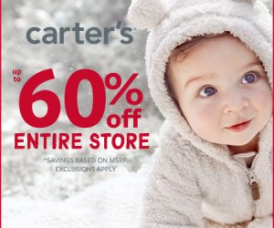 Carter's – Oh What Fun Up to 60% OFF – Ends 12/10!