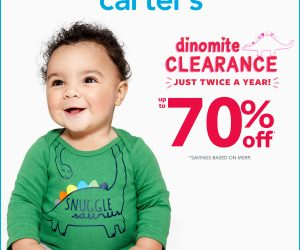 Carter's Dinomite Clearance Up to 70% Off – Extended through 1/20/2020!