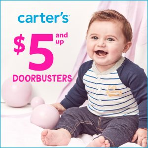Image of Carter's $5 and Up Doorbusters